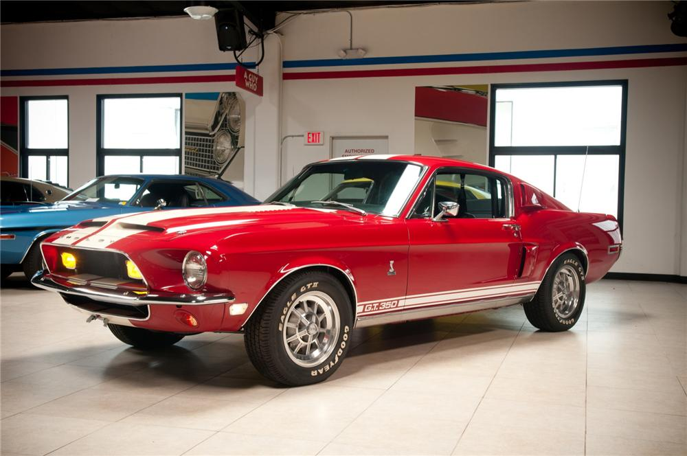 1968 SHELBY GT350 FASTBACK - Front 3/4 - 113070