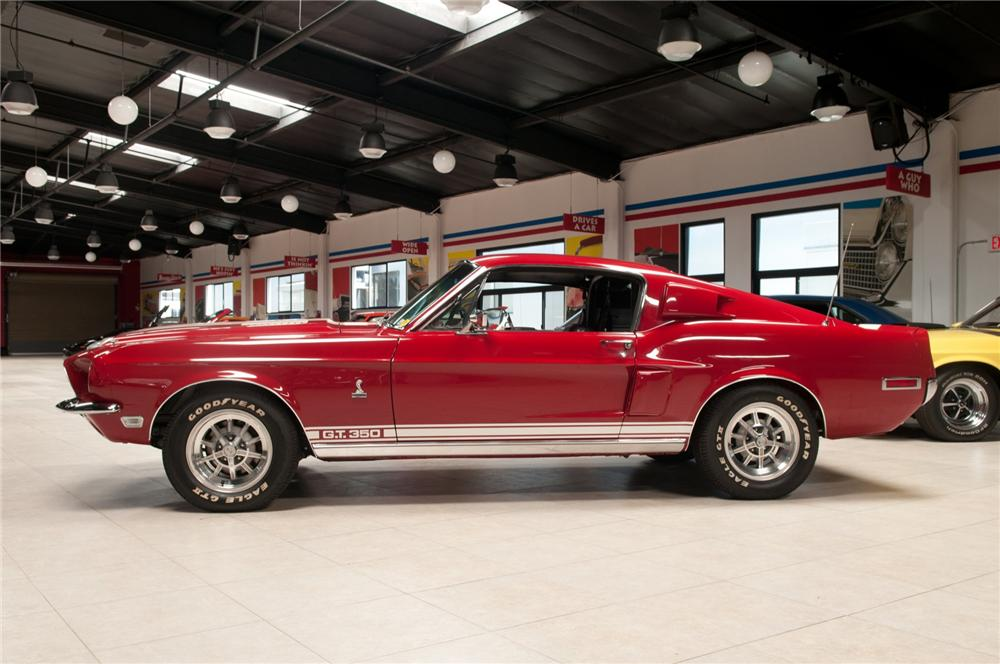 1968 SHELBY GT350 FASTBACK - Side Profile - 113070