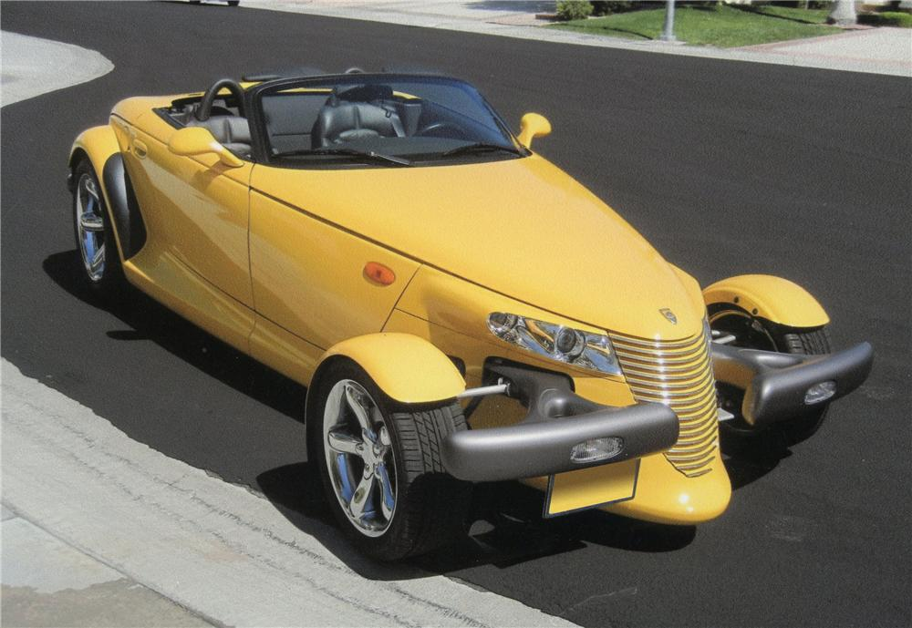 1999 PLYMOUTH PROWLER CONVERTIBLE - Front 3/4 - 113071