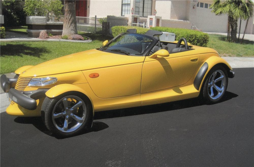 1999 PLYMOUTH PROWLER CONVERTIBLE - Side Profile - 113071