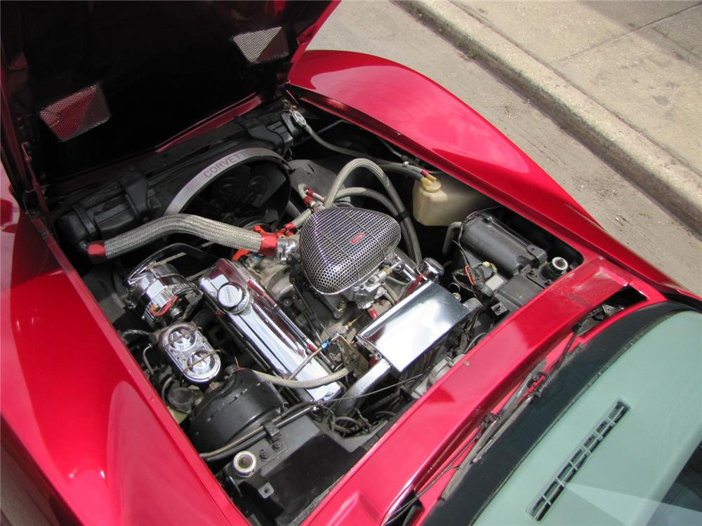 1976 CHEVROLET CORVETTE CUSTOM COUPE - Engine - 113081
