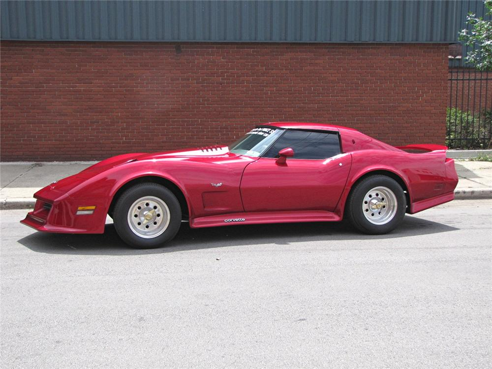 1976 CHEVROLET CORVETTE CUSTOM COUPE - Side Profile - 113081