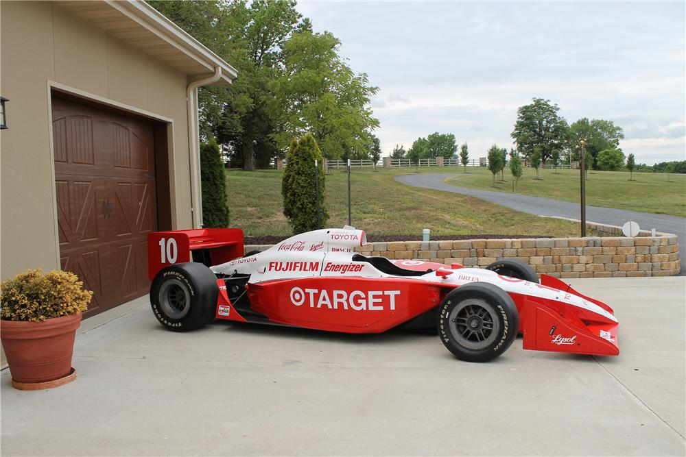 2003 INDY IRL RACE CAR - Front 3/4 - 113107