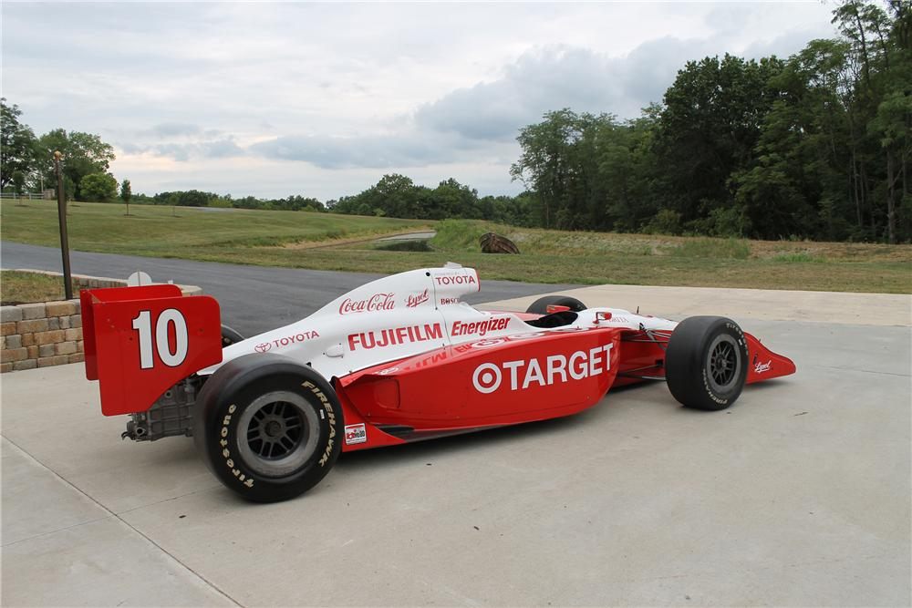 2003 INDY IRL RACE CAR - Rear 3/4 - 113107