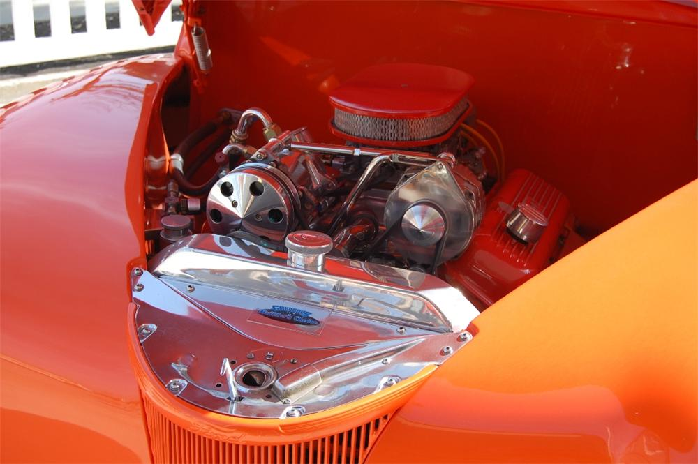 1941 FORD CUSTOM CONVERTIBLE - Engine - 113109
