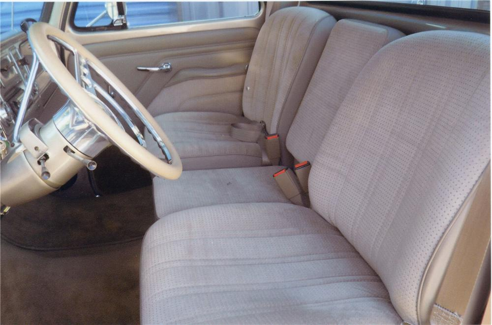 1966 CHEVROLET PICKUP - Interior - 113110