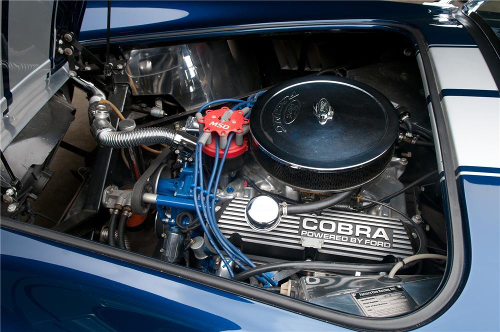2006 FACTORY FIVE SHELBY COBRA RE-CREATION ROADSTER - Engine - 113117