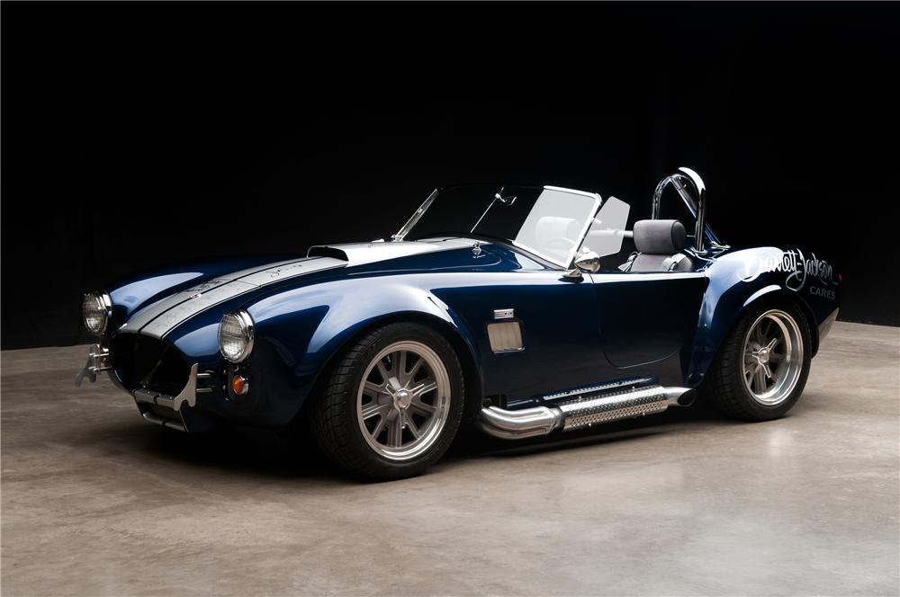 2006 FACTORY FIVE SHELBY COBRA RE-CREATION ROADSTER - Front 3/4 - 113117