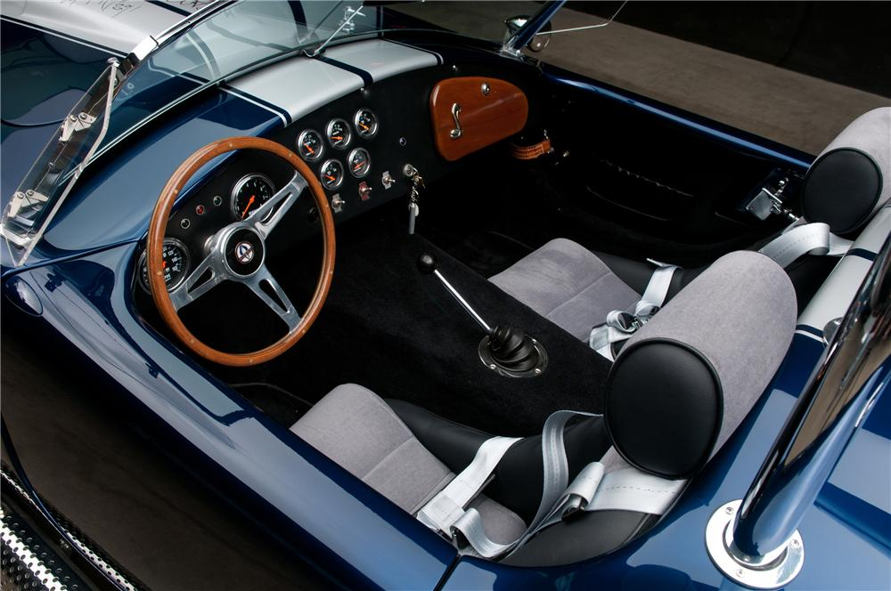 2006 FACTORY FIVE SHELBY COBRA RE-CREATION ROADSTER - Interior - 113117