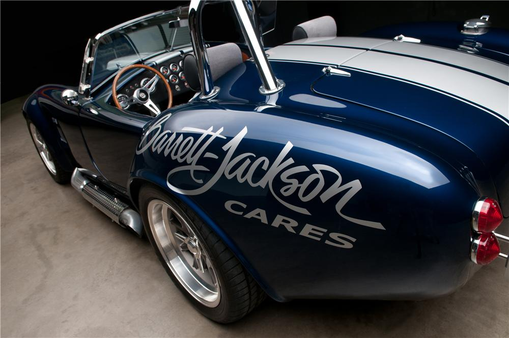 2006 FACTORY FIVE SHELBY COBRA RE-CREATION ROADSTER - Rear 3/4 - 113117