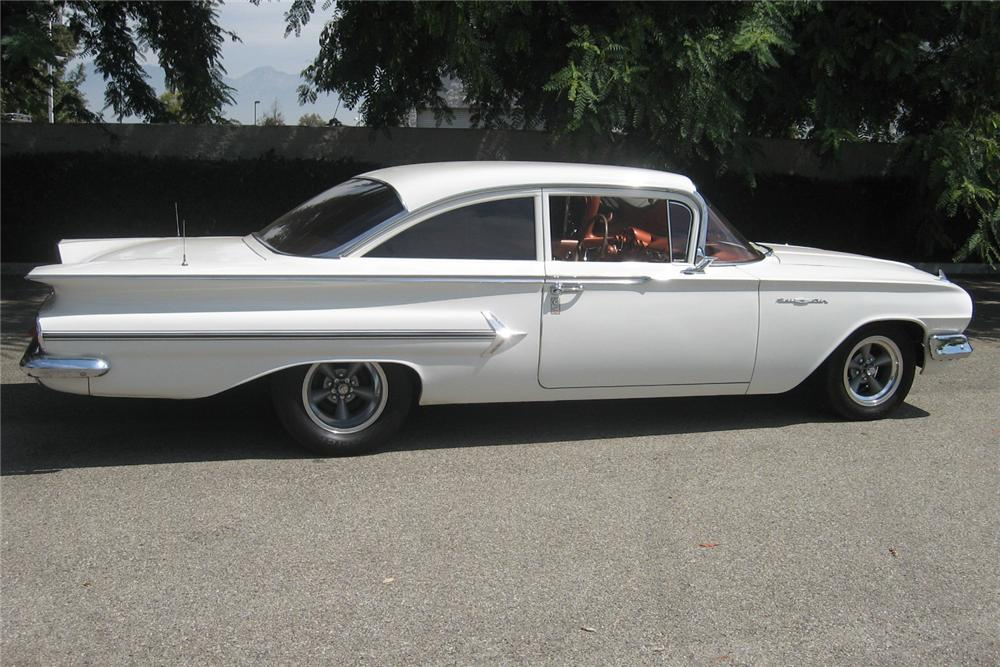 1960 CHEVROLET BEL AIR 2 DOOR CUSTOM SEDAN