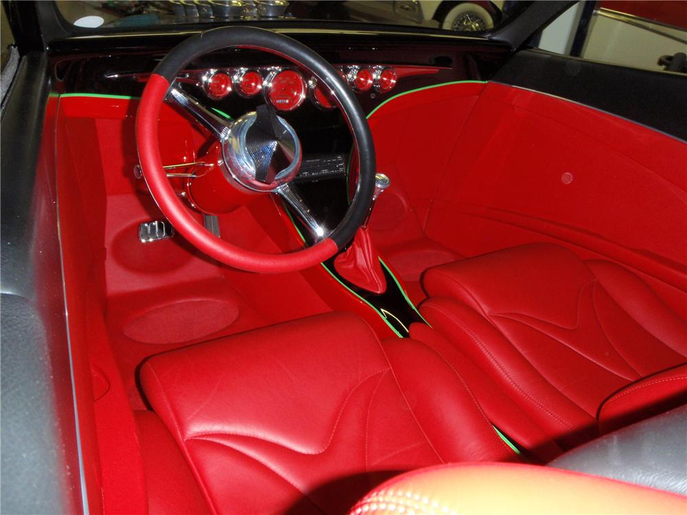 1934 CHEVROLET CUSTOM SEDAN - Interior - 113123