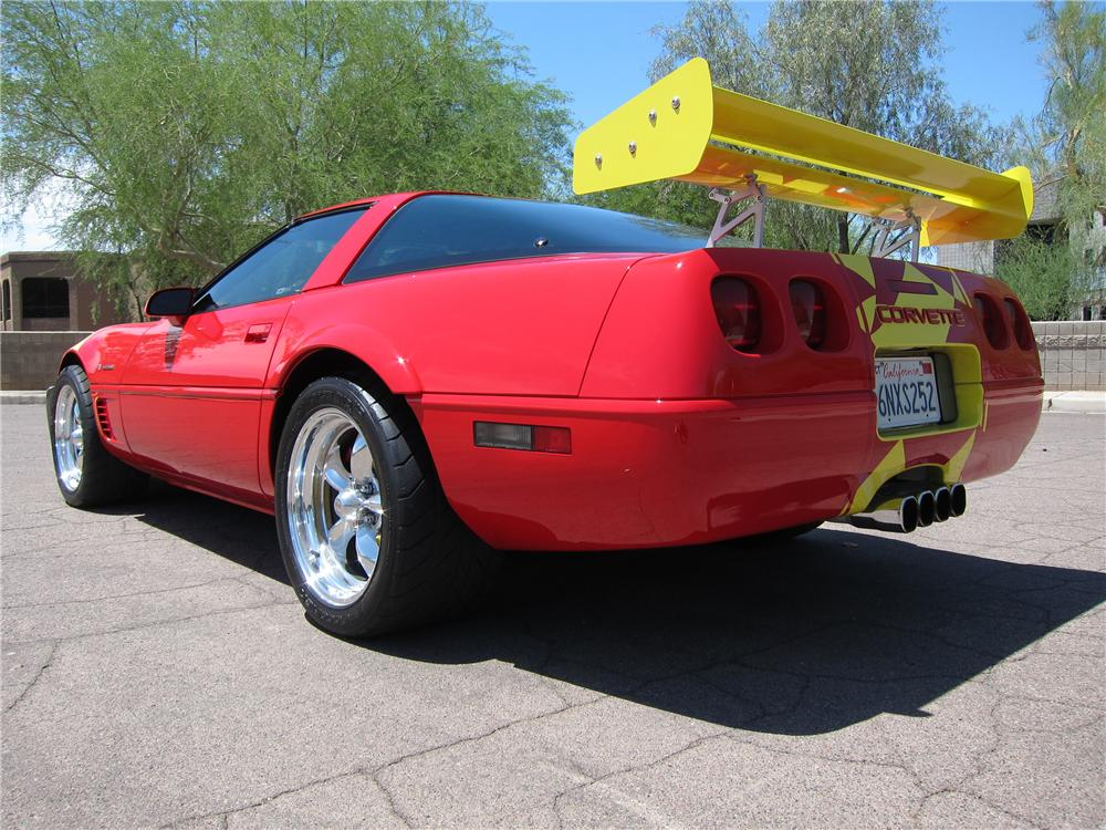 1996 CHEVROLET CORVETTE 2 DOOR COUPE - Rear 3/4 - 113129