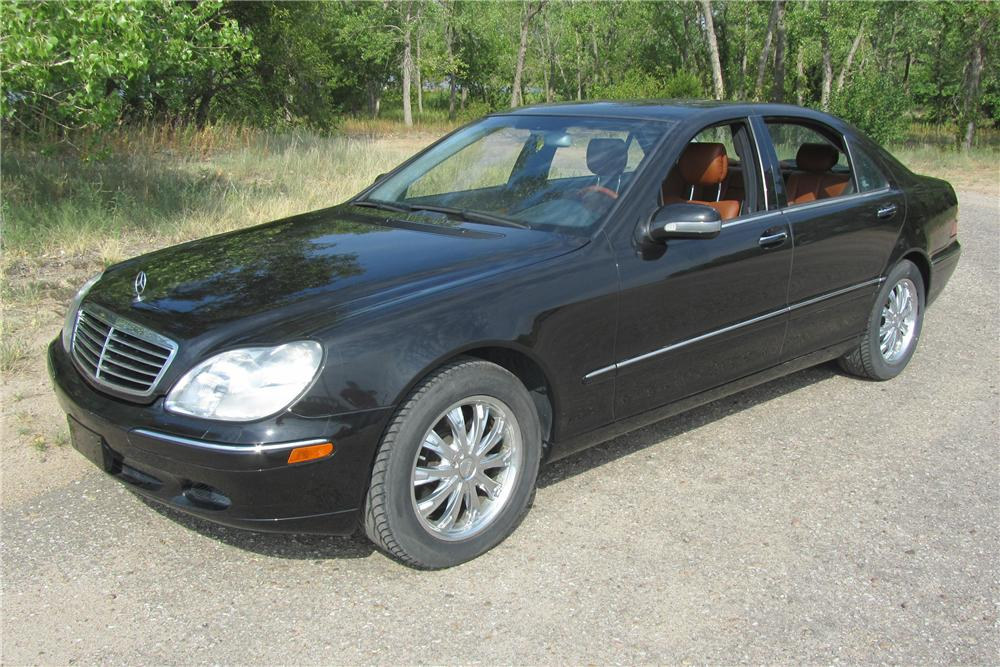 2000 MERCEDES-BENZ S500 4 DOOR SEDAN - Front 3/4 - 113202
