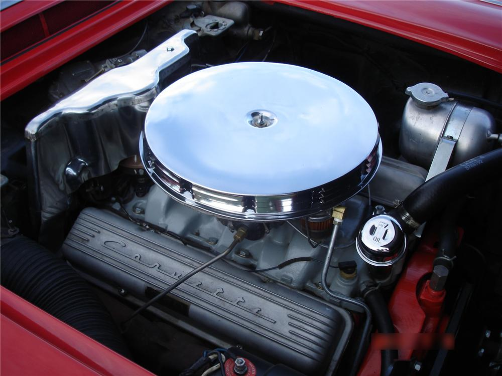1962 CHEVROLET CORVETTE CONVERTIBLE - Engine - 113215