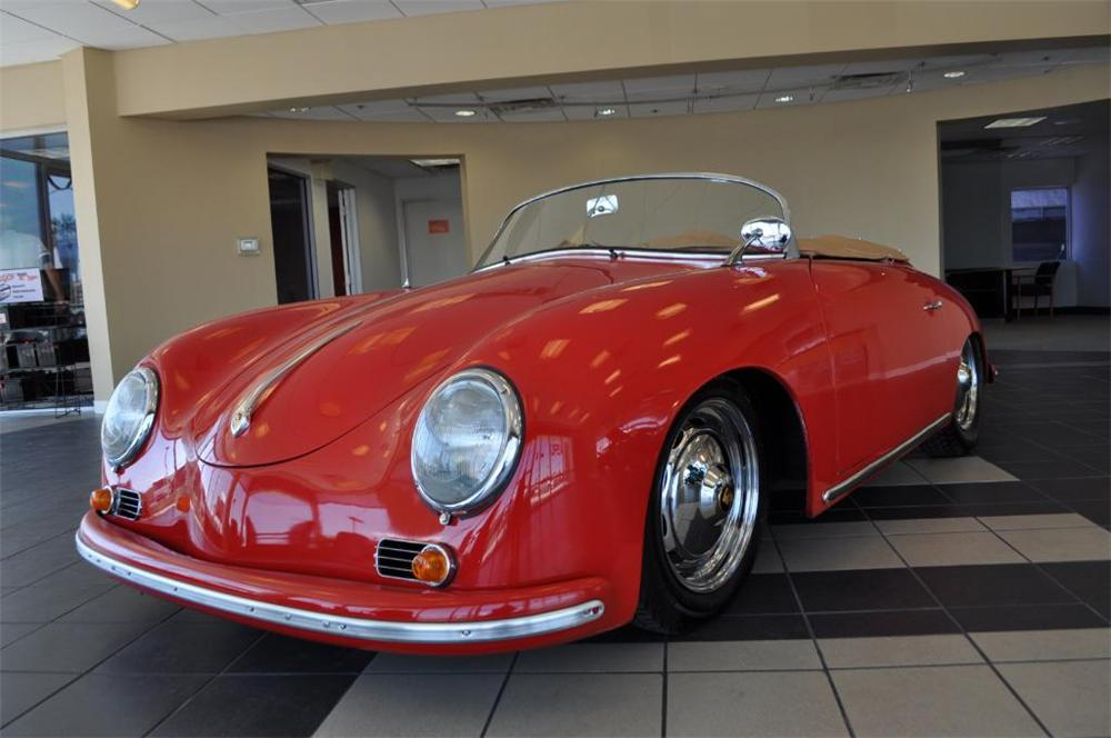 1956 PORSCHE 356 SPEEDSTER RE-CREATION - Front 3/4 - 113216