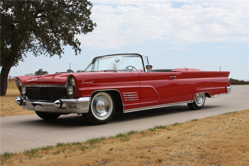 1960 lincoln continental mark iv convertible   113217