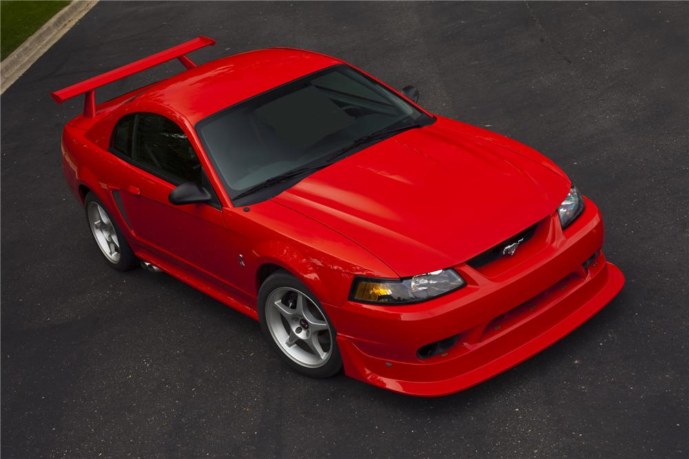 """2000 FORD MUSTANG COBRA """"R"""" COUPE - Front 3/4 - 113220"""