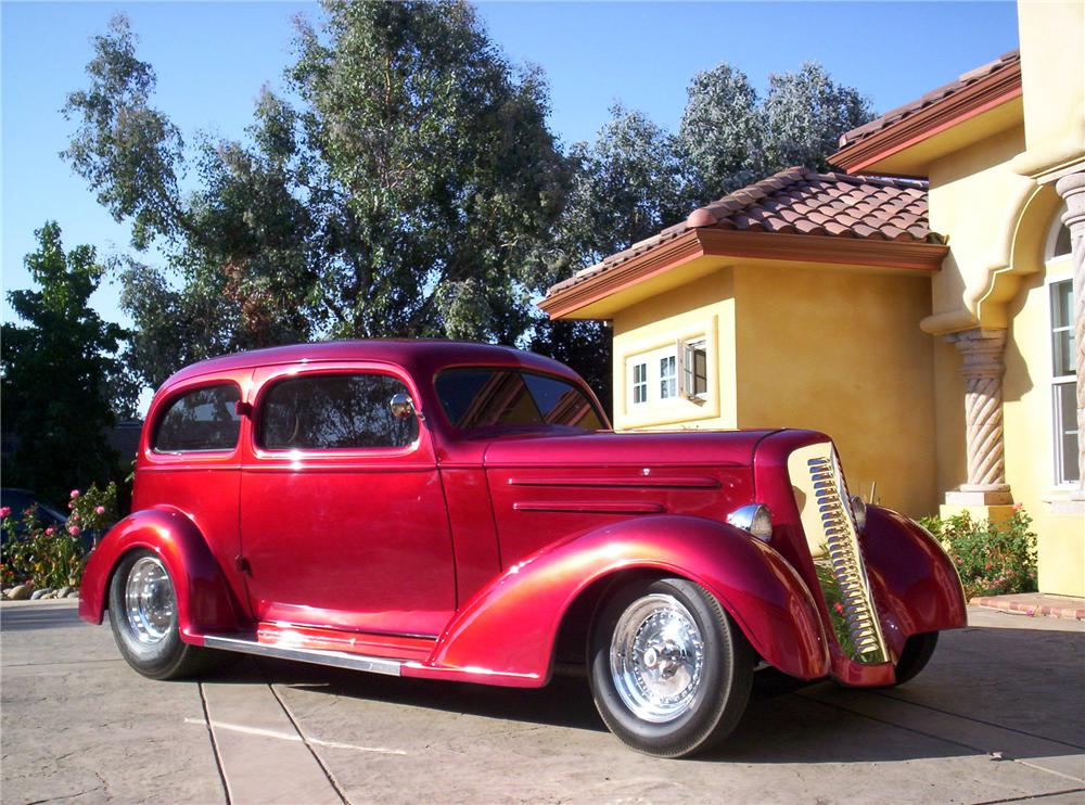 1935 chevrolet master deluxe custom 2 door coupe 113230 for Door 2 door cars