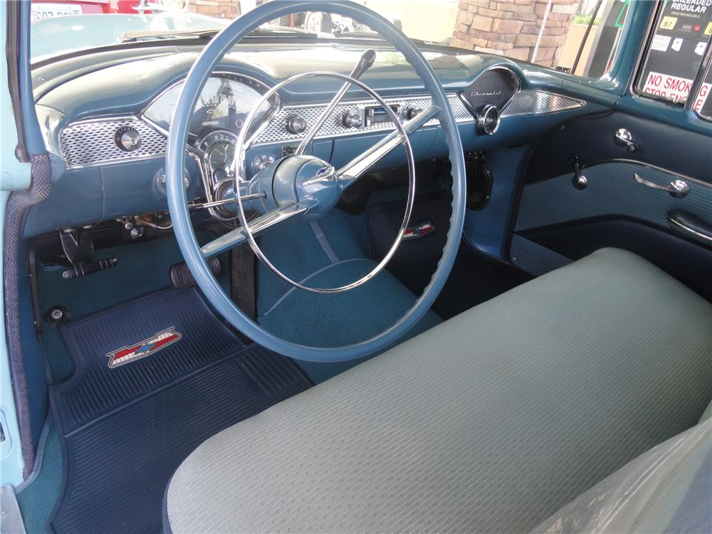 1955 CHEVROLET 210 2 DOOR HARDTOP - Interior - 113232