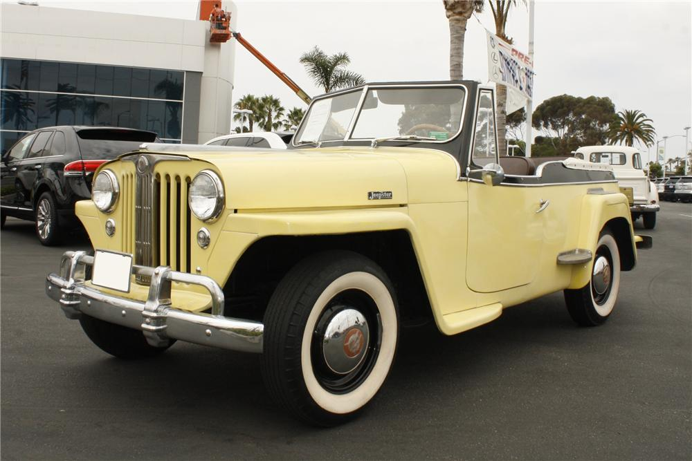 1949 WILLYS JEEPSTER CONVERTIBLE - Front 3/4 - 113236