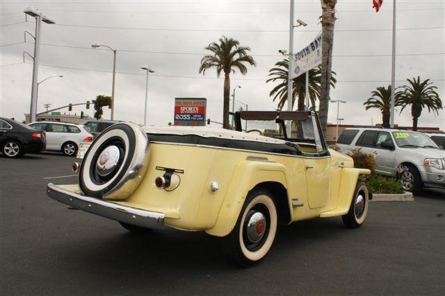 1949 WILLYS JEEPSTER CONVERTIBLE - Rear 3/4 - 113236