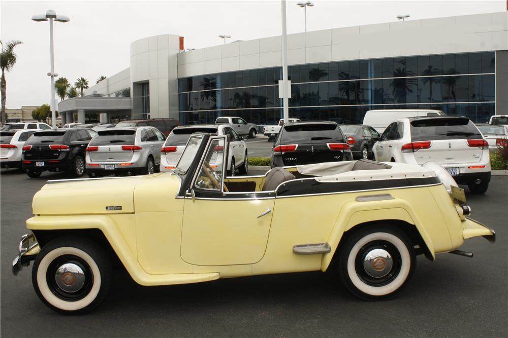 1949 WILLYS JEEPSTER CONVERTIBLE - Side Profile - 113236