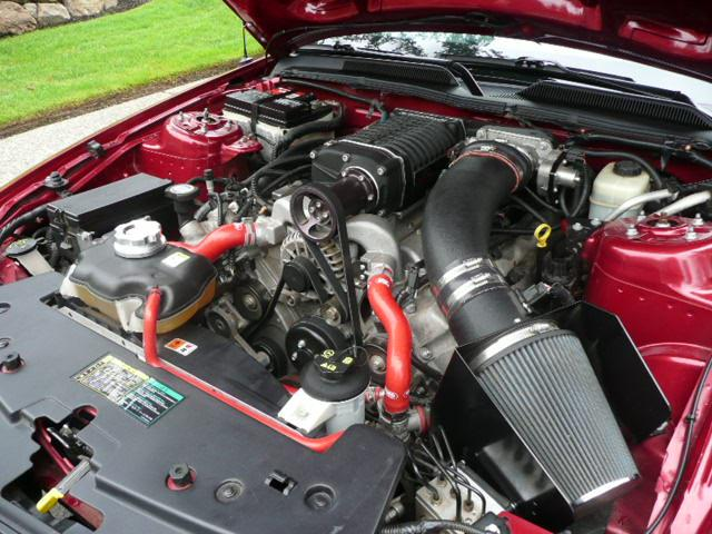 2005 FORD MUSTANG GT CUSTOM CONVERTIBLE - Engine - 113239