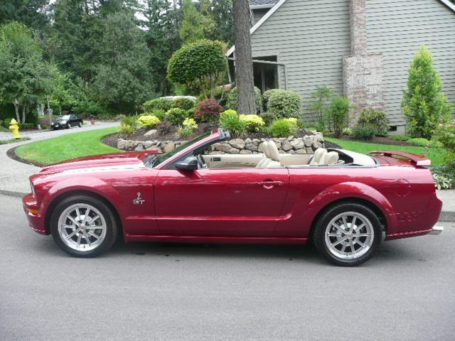 2005 ford mustang gt custom convertible 113239. Black Bedroom Furniture Sets. Home Design Ideas