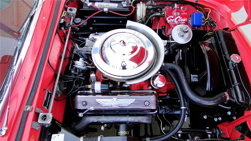 1956 FORD THUNDERBIRD CONVERTIBLE - Engine - 113241
