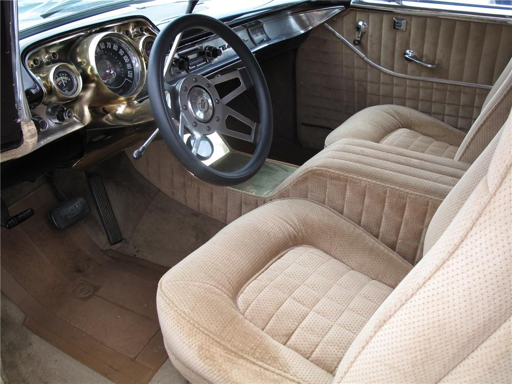 1957 CHEVROLET NOMAD CUSTOM STATION WAGON - Interior - 113244