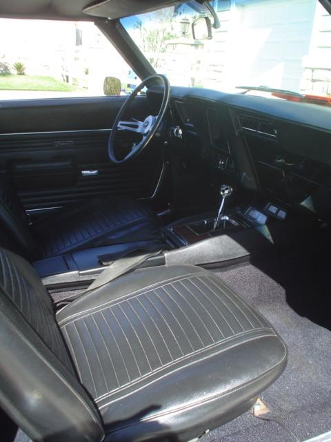 1969 CHEVROLET CAMARO CUSTOM 2 DOOR COUPE - Interior - 113371