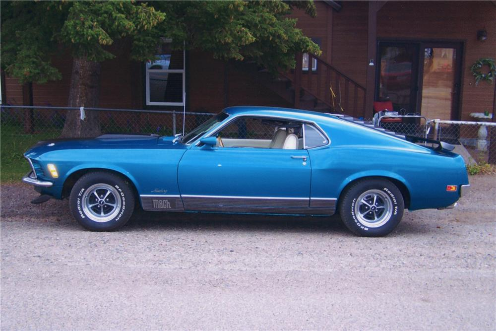 1970 FORD MUSTANG MACH 1 FASTBACK - Front 3/4 - 113377