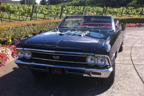 1966 Chevrolet Chevelle Custom Convertible 113383