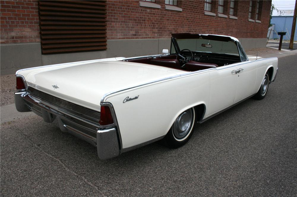 1964 lincoln continental 4 door convertible 113386. Black Bedroom Furniture Sets. Home Design Ideas