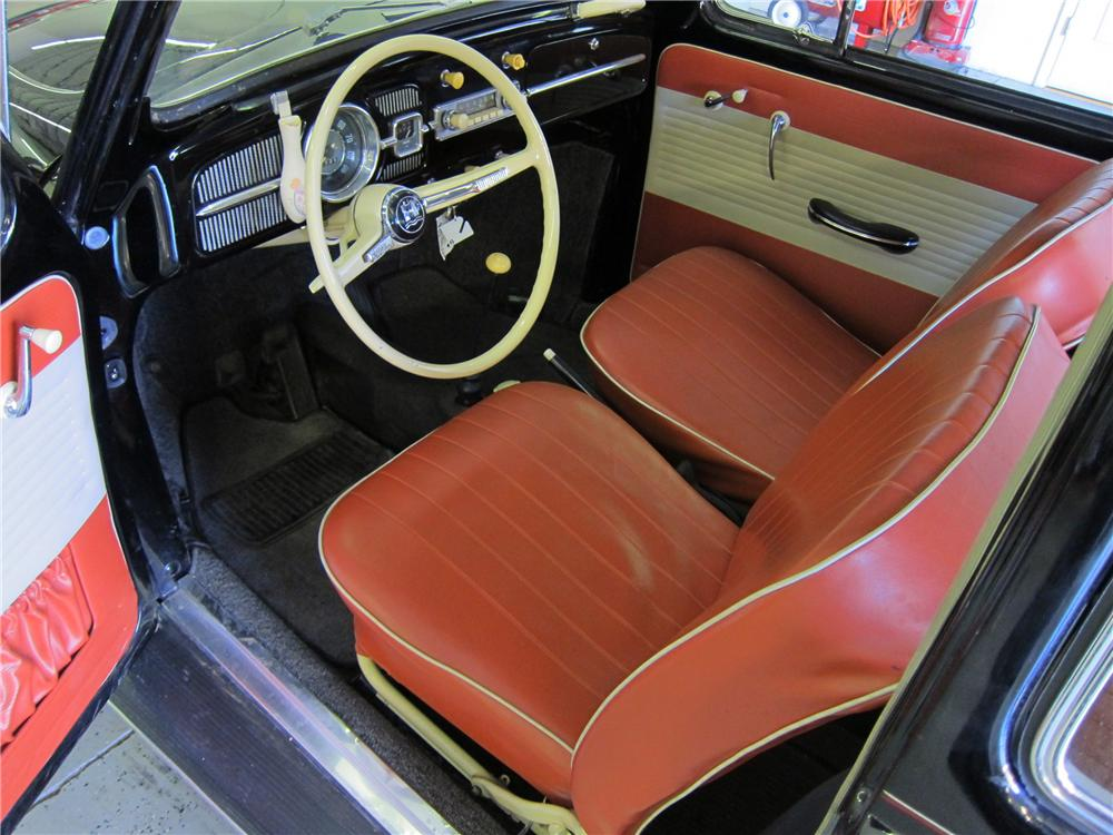 1964 VOLKSWAGEN BEETLE 2 DOOR SEDAN - Interior - 113389