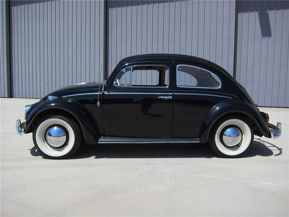 1964 VOLKSWAGEN BEETLE 2 DOOR SEDAN - Side Profile - 113389