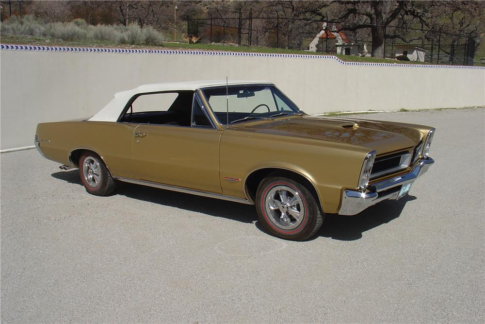 1965 PONTIAC GTO CONVERTIBLE - Side Profile - 113390