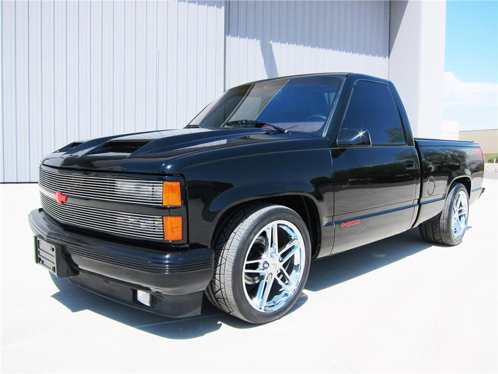 1990 CHEVROLET 454SS CUSTOM PICKUP - Front 3/4 - 113391