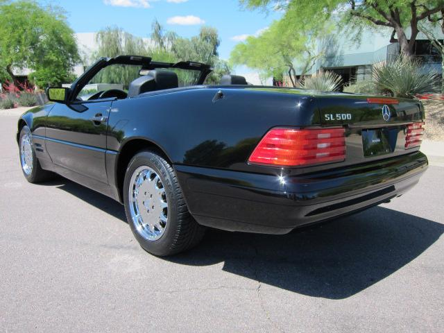 1997 MERCEDES-BENZ SL500 CONVERTIBLE - Rear 3/4 - 113392
