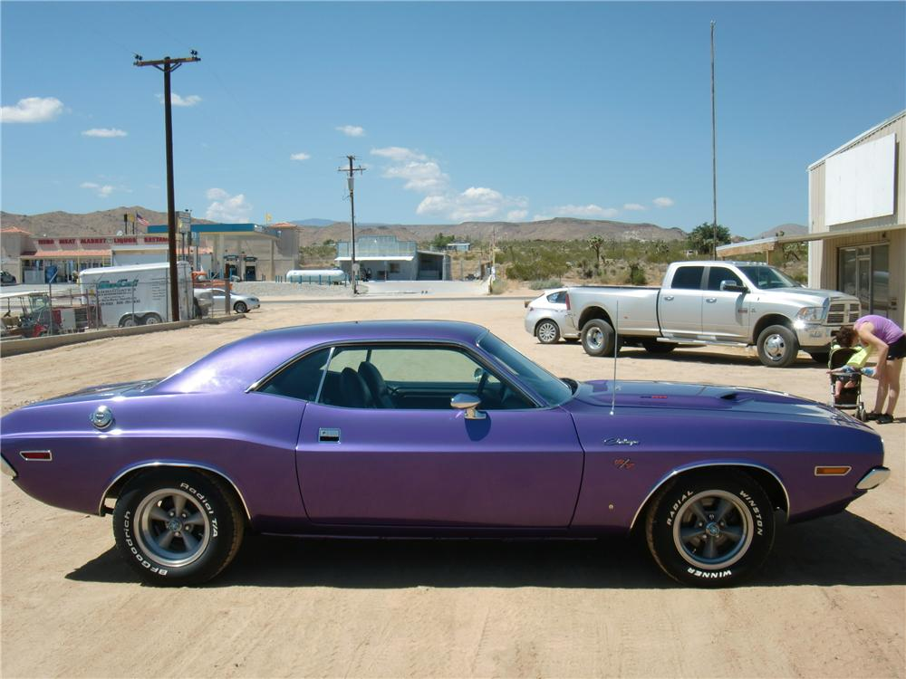 1970 DODGE CHALLENGER R/T 2 DOOR COUPE - Side Profile - 113399