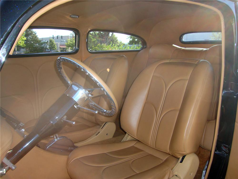 1935 DODGE CUSTOM 2 DOOR SEDAN - Interior - 113402