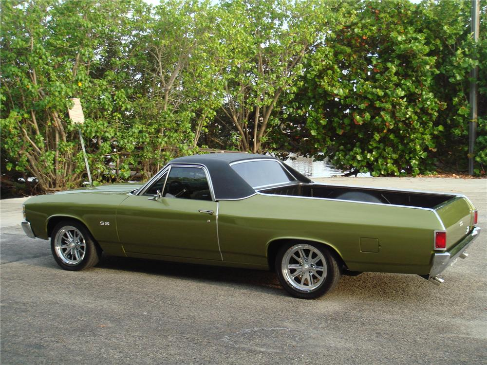 1971 CHEVROLET EL CAMINO CUSTOM PICKUP  113409