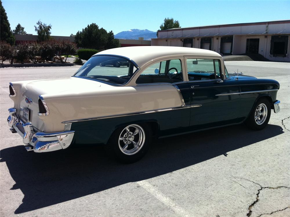 1955 chevrolet 210 custom 2 door sedan 113410 for 1955 chevy two door