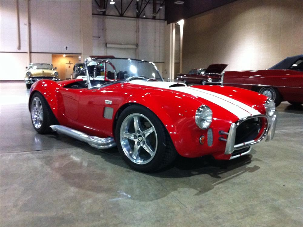 1965 SHELBY COBRA RE-CREATION  - Front 3/4 - 113413