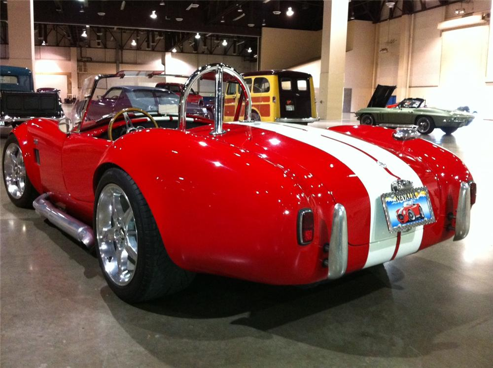 1965 SHELBY COBRA RE-CREATION  - Rear 3/4 - 113413