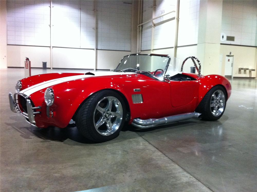 1965 SHELBY COBRA RE-CREATION  - Side Profile - 113413