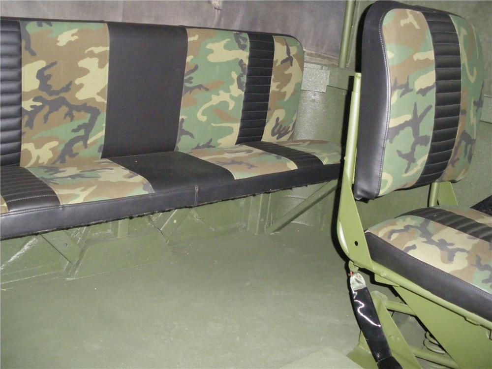 1989 AM GENERAL M35A2C CUSTOM MILITARY CARGO TRUCK - Interior - 113415