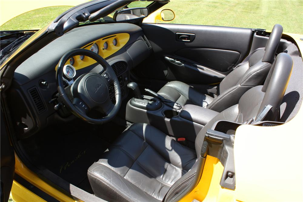 1999 PLYMOUTH PROWLER CONVERTIBLE - Interior - 113418