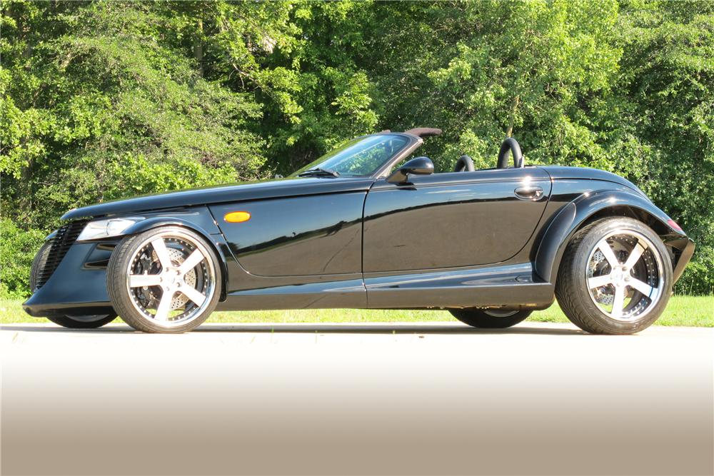 2000 PLYMOUTH PROWLER CUSTOM CONVERTIBLE - Side Profile - 113419